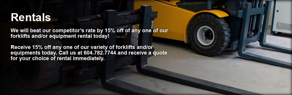 New an used forklifts for sale and rental - FSB Forklift